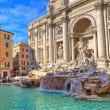 Trevi Fountain. Rome, Italy. — Stock Photo #22039257