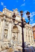 Trevi Fountain. Rome, Italy. — Stock Photo