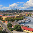 Royalty-Free Stock Photo: Harbor and city of La Spezia, Italy.