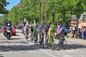 Giro D'Italia on streets of Alba. — ストック写真