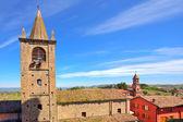 Old church in small italian town. — Stockfoto