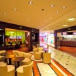 Restaurants in Metropole shopping center at Monte Carlo, Monaco. — Stock Photo #30663847