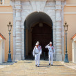 Guard change in Monte Carlo, Monaco. — Stock Photo