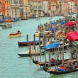 Venetian cityscape from Rialto bridge. — Stock Photo