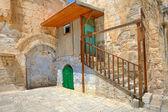 科普特教会在耶路撒冷,以色列的小单元格. — 图库照片