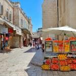 Old market of Jerusalem. — Stock Photo