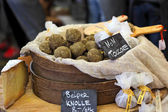 Swiss Belper Knolle cheese. — Stock Photo