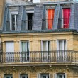 Typical parisian residential building. — Stock Photo