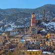 Small town of tende in Alps. — Stock Photo