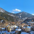 Small french town of Tende in Alps. — Stock Photo