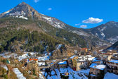 Small french town of Tende in Alps. — Foto Stock