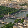 Aerial view of Paris, France. — Stock Photo #38611241