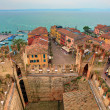 View on Sirmione and Lake Garda from castle. — Stock Photo #38611707