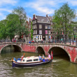 Typical city view in Amsterdam, Netherlands. — Stock Photo #39086245