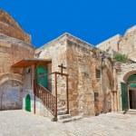 Courtyard of Coptic Ortodox Church in Jerusalem. — Stock Photo #40164893