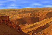 Hills and mountains in Arava desert. — Stock Photo