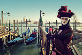 Traditional Venetian Carnival 2011. — Stock Photo