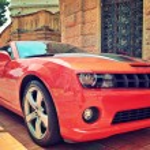 Red Chevrolet Cameo in Monaco. — Stock Photo #41086763