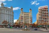 Valencia urban Visa. — Stockfoto