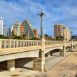 Bridge over Gardens of Turia in Valencia. — Stock Photo