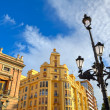 Lamppost and typical buildings in Valencia, Spain. — Stock Photo #41866037