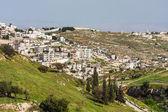 Palestinian town on suburb of Jerusalem. — Stockfoto