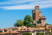 Town of Serralunga D'Alba in Italy. — Stock Photo