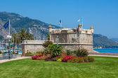 Medieval fortress in Menton, France. — Stock Photo