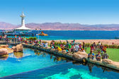 Eilat Underwater Observatory Marine Park. — Stock Photo