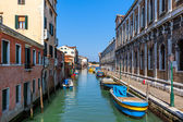 Typical cityscape of Venice, Italy. — Stock Photo