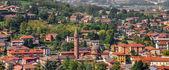 Town of Alba in Piedmont, Italy. — Stock Photo