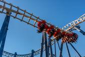 Roller coaster in Luna Park. — Stock Photo