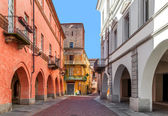 Urban view in Alba, Italy. — Stock Photo