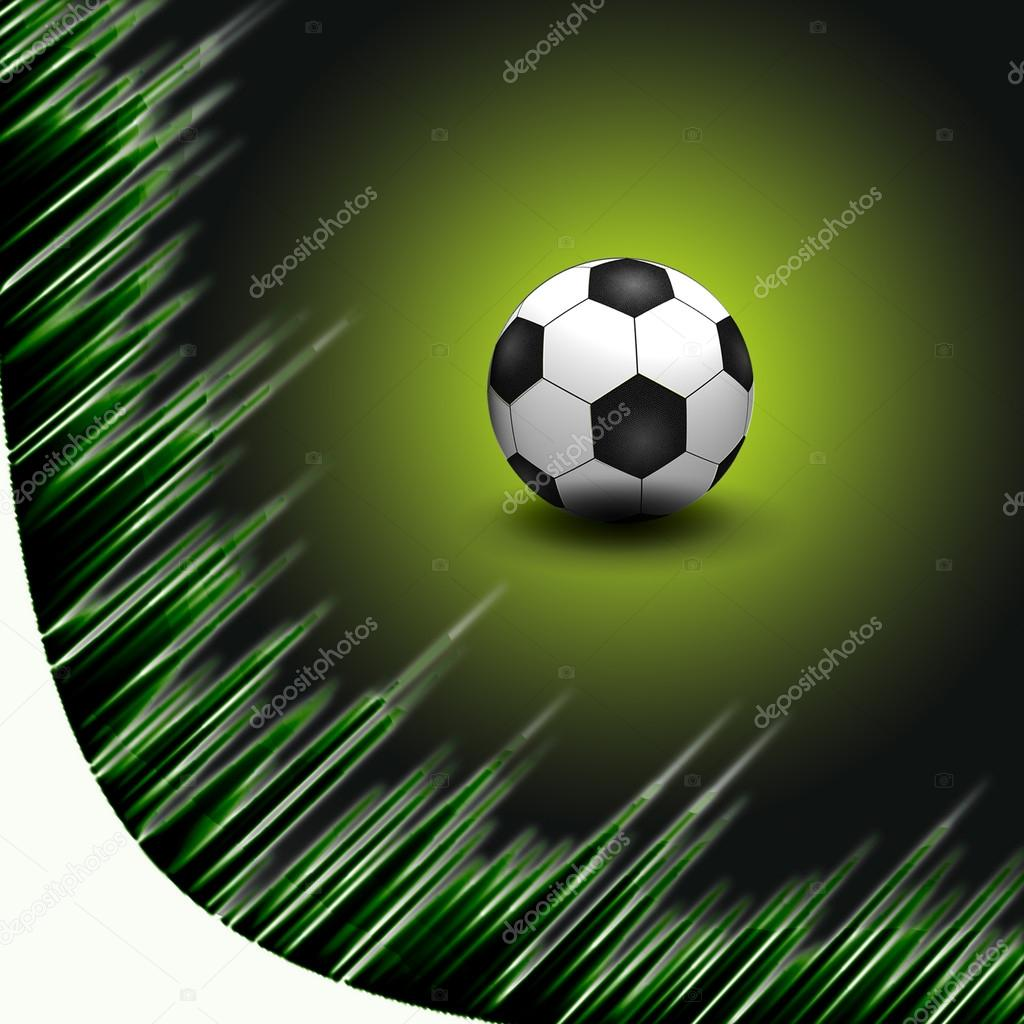 Abstract Beautiful soccer Background  Stock Photo #12600169