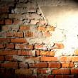 Background of brick wall with highlights — Stock Photo #12891061