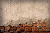 Pozadí cihlová zeď — Stock fotografie