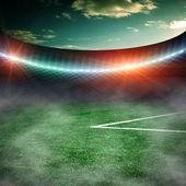Soccer green field  — Stock Photo