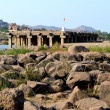 Hampi, India — Stock fotografie