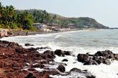 Anjuna beach — Stock Photo