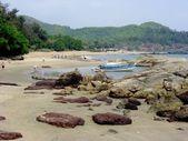 Om beach — Stock Photo