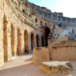 Amphitheatre of El Djem — Stock Photo