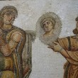 Mosaic in the Bardo Museum - Stock Photo