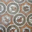 Mosaic in the Bardo Museum - Foto de Stock