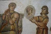 Mosaik im bardo-museum — Stockfoto