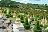 Nong nooch tropische tuin — Stockfoto