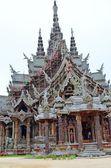 Templo da verdade em pattaya — Fotografia Stock