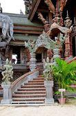 Świątynia prawdy w pattaya — Zdjęcie stockowe