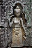 Ancient Cambodian temple — Stock fotografie