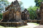 Ancient Cambodian temple — Foto Stock