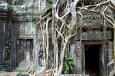 Starověkého kambodžského chrámu — Stock fotografie